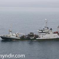 Ísleifur VE 63 kom með 2000 tonn til Vestmannaeyja í dag