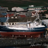 Geiri Péturs ÞH 344 í slipp á Húsavík