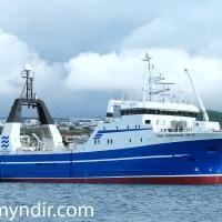 Tómas Þorvaldsson GK 10 fór á flot í dag