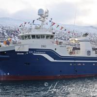 Harðbakur EA 3 kom til heimahafnar á Akureyri í morgun