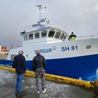 Bárður SH 81 kom til landsins í morgun