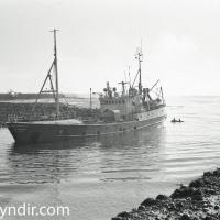 Albert GK 31 í innsiglingunni til Grindavíkur