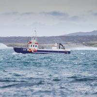 Hraunsvík á leið í róður