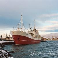 Kap II við bryggju á Akureyri