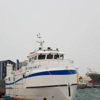 Hulda komin á flot
